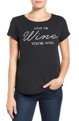 Signorelli Women's 'Love The Wine You're With' Short Sleeve Tee