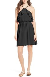Lush Women's Ruffle Blouson Dress