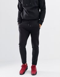 Another Influence Quilted Panel Slim Fit Joggers Black