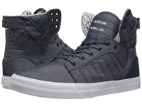 Supra Skytop Blue White Men's Skate Shoes