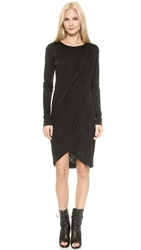 Rachel Zoe Gio Asymmetrical Dress Black