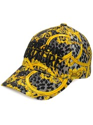 Versace Jeans Couture Baroque Print Branded Baseball Cap 60