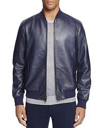 Michael Kors Reversible Leather Racer Jacket 100 Bloomingdale's Exclusive Midnight