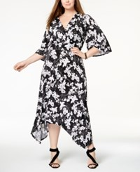 Inc International Concepts Plus Size Floral Print Maxi Dress Created For Macy's Mosaic