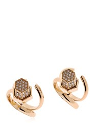Giuliana Mancinelli Route 66 Crystal Edition Set Of 2 Rings