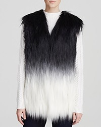 Guess Vest Ombre Faux Fur