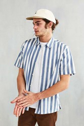 Cpo Awning Stripe Short Sleeve Shirt Blue