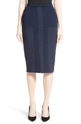 Max Mara Women's Comica Pencil Skirt Ultra Marine