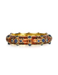 Dsquared Charlotte Brass And Enamel Bracelet