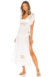 L Space Sunset Cover Up White