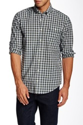 Gant By Michael Bastian The Mb Summer Tartan Long Sleeve Shirt Blue