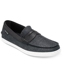 Cole Haan Men's Pinch Weekender Loafers Men's Shoes Black Canvas