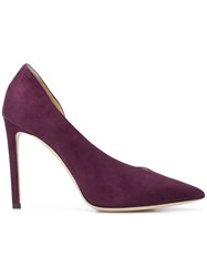Jimmy Choo Romy 100 Pumps Pink And Purple