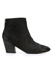 Marsell Marsell Chunky Heel Ankle Boots Black