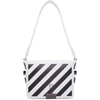 Off White Diagonal Flap Bag