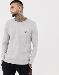 Voi Jeans Crew Neck Sweatshirt In Light Grey Light Grey