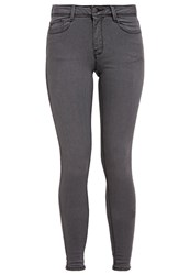 Dorothy Perkins Bailey Slim Fit Jeans Grey Dark Gray