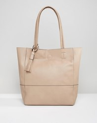 Qupid Shopper Bag Stone