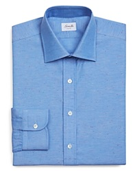 Hamilton Denim Multicolor Dobby Classic Fit Button Down Shirt 100 Bloomingdale's Exclusive Blue