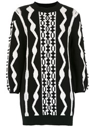 Andrea Bogosian Knit Dress Black