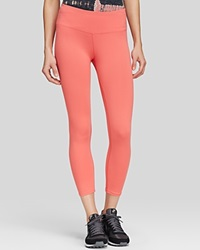 Hard Tail Capri Leggings Coral