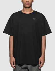 Off White Back Bone T Shirt Black
