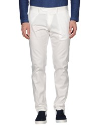 Roberto Pepe Trousers Casual Trousers Men White