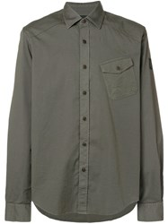 Belstaff Chest Pocket Shirt Green