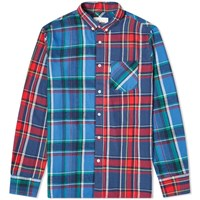 Penfield Barrhead Multi Check Shirt Blue