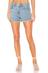 Rvca The Boyfriend Short Vintage Blue