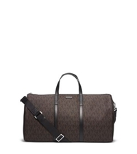 Michael Kors Jet Set Travel Logo Duffle Brown