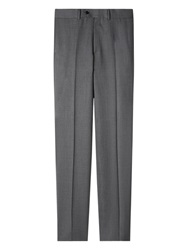 Aquascutum London Aquascutum Twill Wool Suit Trousers Grey