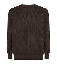 Allsaints Karnett Crew Neck Jumper Male Purple