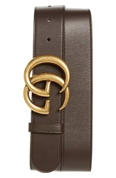 Gucci Men's Logo Leather Belt
