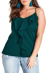 City Chic Plus Size Women's Luna Camisole Emerald