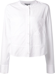 Maiyet Cropped Shirt White