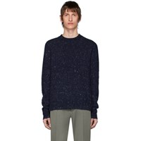 Acne Studios Blue Cashmere Peele Sweater