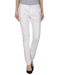 Sun 68 Casual Pants White