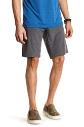 Burnside Dual Function Stretch Short Gray