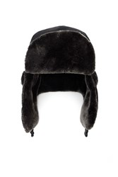 Forever 21 Men Faux Fur Trapper Hat