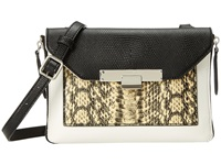 Nine West Strong Angles Crossbody Soft White Multi Satchel Handbags