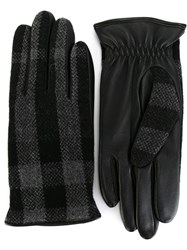 Burberry House Check Gloves Grey