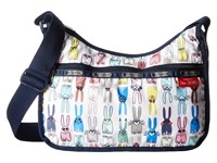 Le Sport Sac Classic Hobo Bag Coloring Book Rabbits Cross Body Handbags White