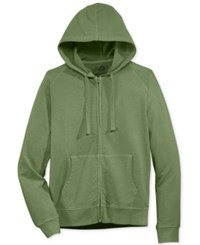 American Rag Men's Washed Fleece Zip Hoodie With Pockets Only At Macy's Calm Sage