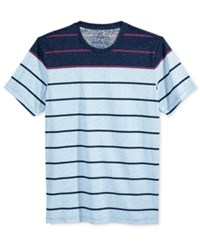 American Rag Men's Stripe T Shirt Only At Macy's Basic Navy