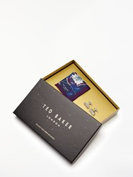 Ted Baker Paisley Pocket Square And Cufflinks Gift Set