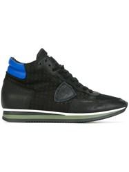 Philippe Model 'Tropez H World' Hi Top Sneakers Black