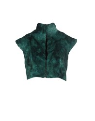 Toy G. Coats And Jackets Faux Furs Deep Jade