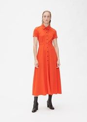 Rachel Comey Axil Dress Electric Red