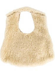 Numero 10 Sunvalley Shearling Bag White